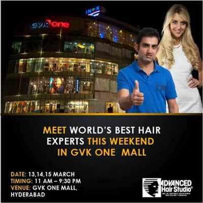 Meet world's best hair experts in GVK One Mall, Hyderabad