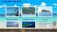 jolly buoy island wandoor andaman fort holidays
