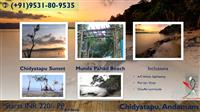 chidyatapu sunset andaman fort holidays