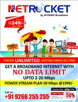 Netrocket Broadband-Wysner Networks Pvt Ltd