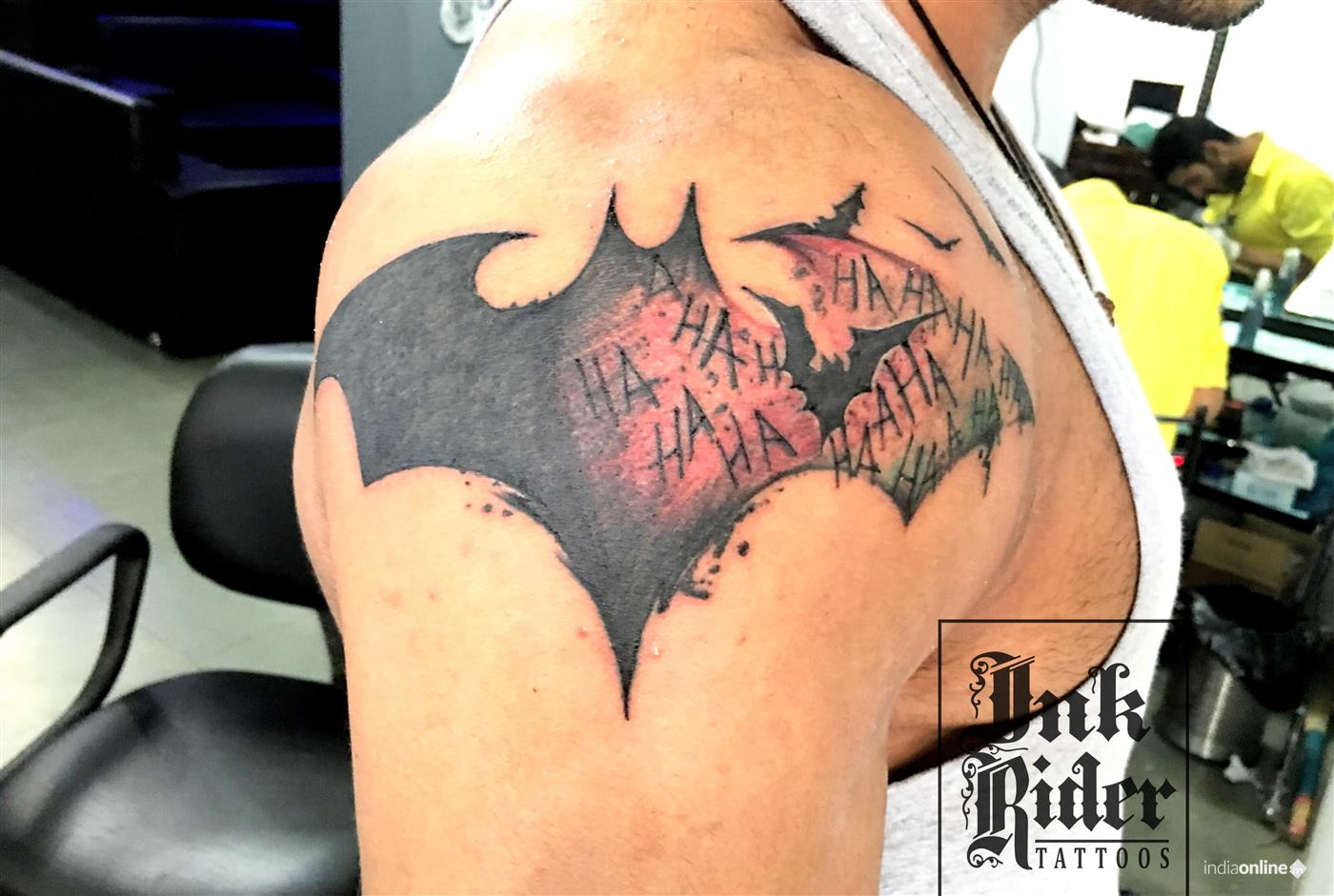 0a4364cac Permanent Designer Tattoo in Chandpole Udaipur by Ink Rider Tattoos ...