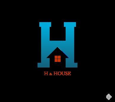 building_h_letter_alphabets_inspiration_vector_logo_design