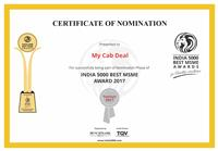 My Cab Deal Pvt Ltd