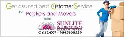 Sunlite Packers And Movers