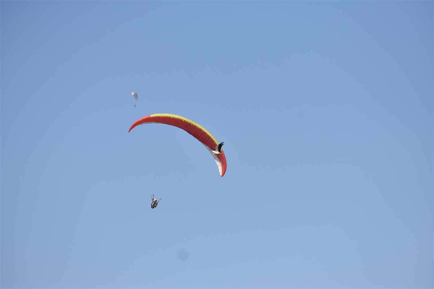 Paragliding + Trekking + Camping @ 6,490/- Only
