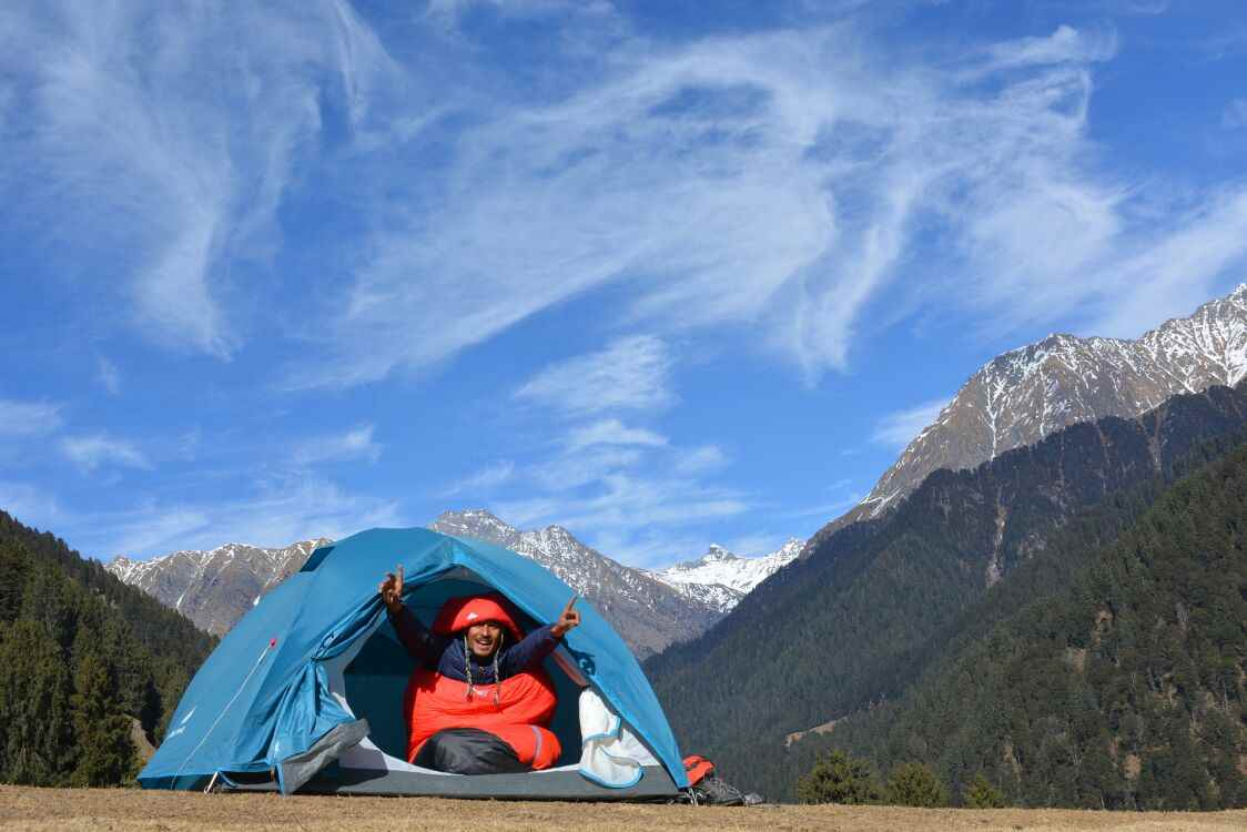 Paragliding+Trekking+Camping @3,490/- Only