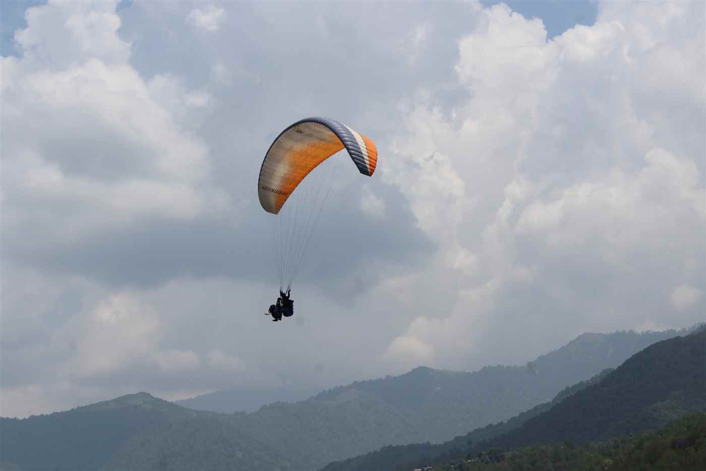 Paragliding + Trekking + Camping @ 6,450/- Only