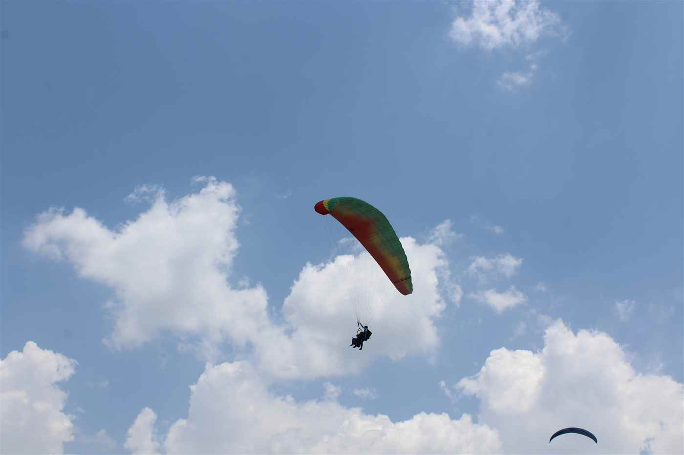 Paragliding + Trekking + Camping @ 3,450/- Only