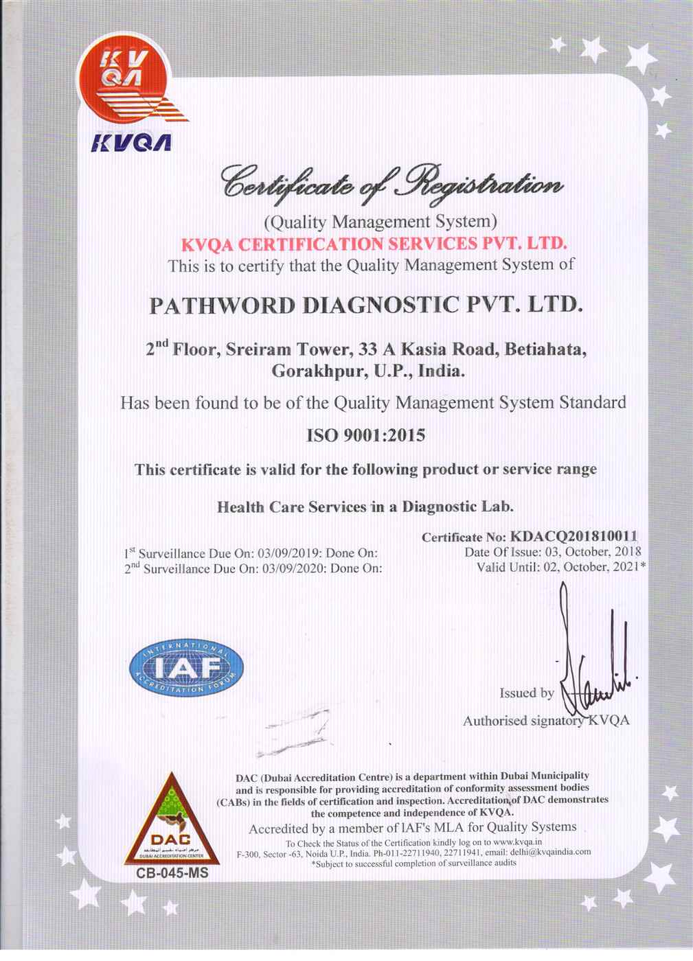 PATHWORD DIAGOSTICS PVT LTD  001