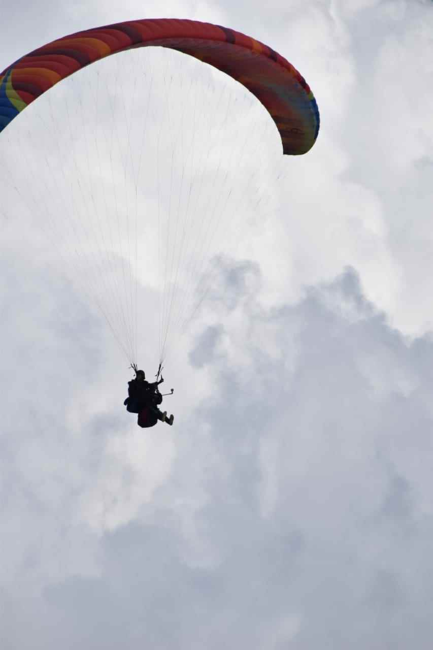 Para gliding + Deluxe Room Package @ 2999/- Only