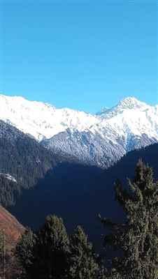 Dholadhar Mountains
