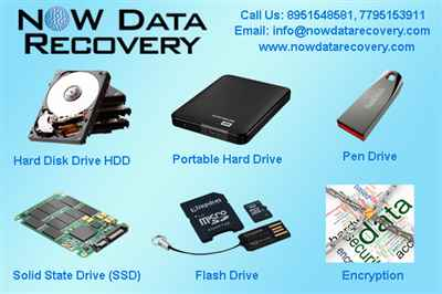 Now Data Recovery Services in Bangalore, India