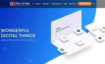 Web30India - Mobile App Development Company