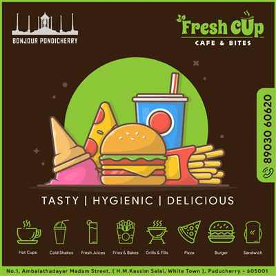 FRESH CUP -  PONDICHERRY