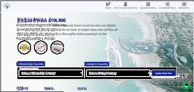Dubai Evisa online