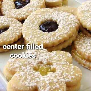 Center Filled Cookies