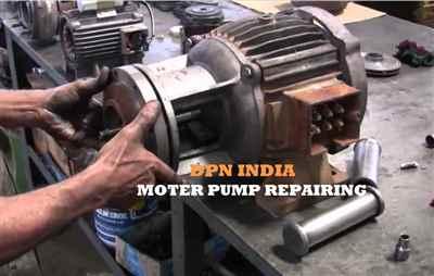 Motor pump Repairing