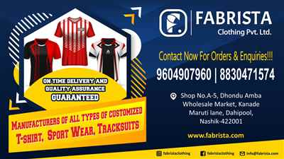 Fabrista Clothing Pvt. Ltd.