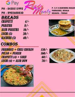 READY MEALS HOME DELIVERY