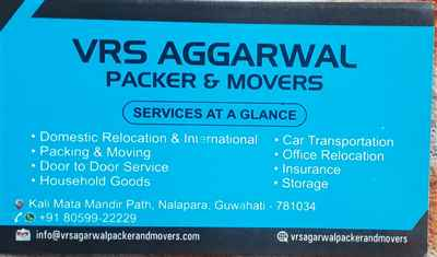Vrs agarwal packers and movers
