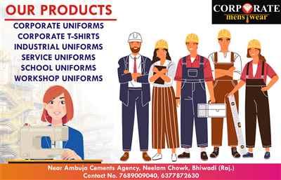 Corporate Men's Wear