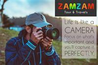 ZAMZAM TOUR AND TRAVELS CHHINDWARA QUOTE 1