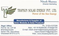 Trapsun Solar Energy Pvt Ltd