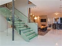 Glass Stair case design