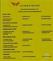 AA Tour And Travels