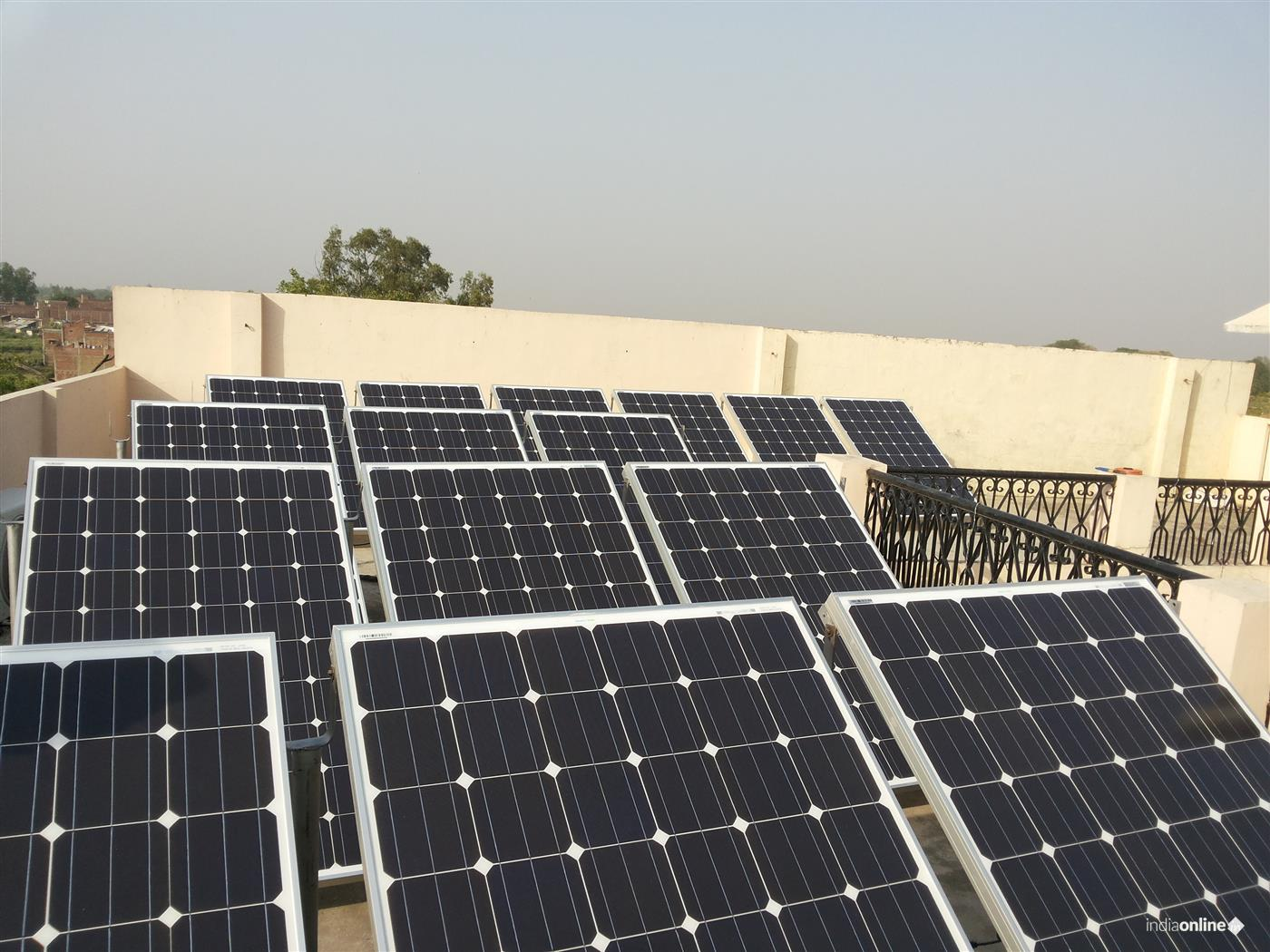 5 KW Solar Project Gupta House, Sultanpur