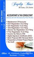 Joydip Tax Consultant