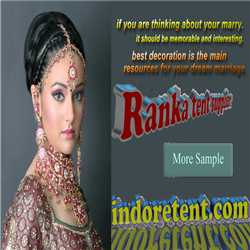 Ranka Tent Supplier