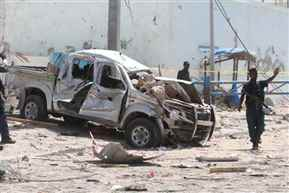 11 People killed, 25 injured in explosions in Somalia