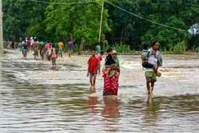 Heavy rain lashes several parts of country disrupting normal life