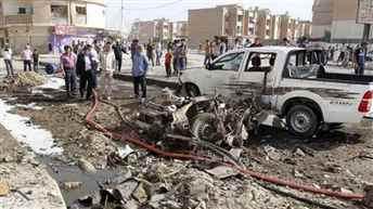 7 killed, 26 wounded in a roadside blast in Iraq
