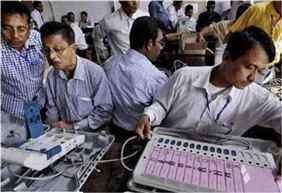 Counting of votes for Maharashtra, Haryana Assembly polls begins