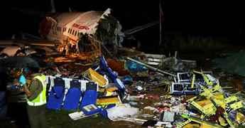 Atleast 18 people killed in plane crash at Kozhikode airport in Kerala