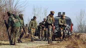Encounter reported between terrorists and security forces in Pulwama