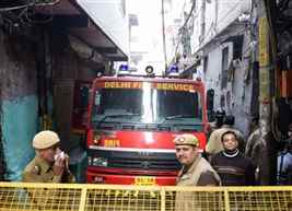 NHRC seeks detailed report on Delhi fire incident