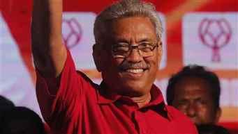 Gotabaya Rajapaksa elected as new President of Sri Lanka