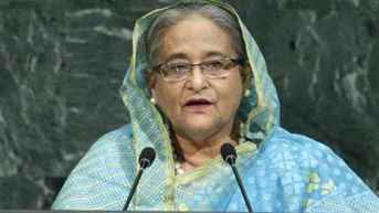 Bangladeshi PM Sheikh Hasina leaves for UK