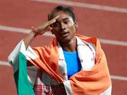 PM Modi hails sprinter Hima Das for winning 5 Gold medals