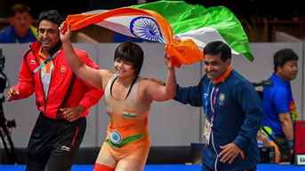 Asian Wrestling C'ships: Three Indians enter bronze-medal playoffs