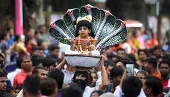 Janmashtami being celebrated in different parts of the country