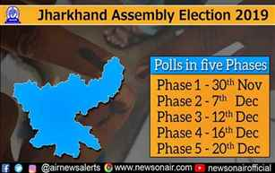Stage set for 4th phase of assembly elections in Jharkhand tomorrow