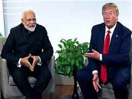US Prez Trump to join PM Modi's mega rally in Houston on Sep 22