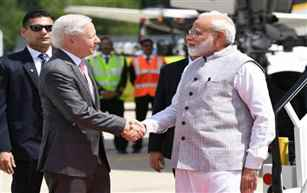 PM Narendra Modi arrives in Houston for a week-long US visit