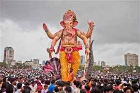 Ganpati Visarjan: 80 idols immersed in Mumbai water bodies on fifth day of festival