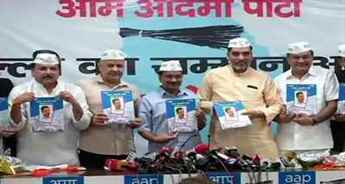 AAP releases manifesto; Kejriwal says party to gain full statehood for Delhi