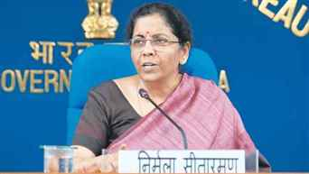 All banks ensuring that their branches are kept open: FM Sitharaman